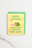 Tasty Birthday Cake Enamel Pin Card