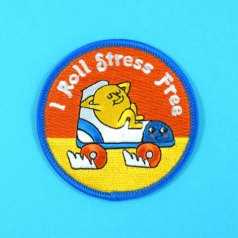 I Roll Stress Free Patch by Ruan Van Vliet