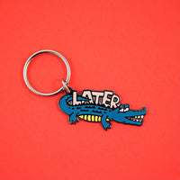 Later Gator Keychain