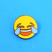 Laugh / Cry Emoji Pin