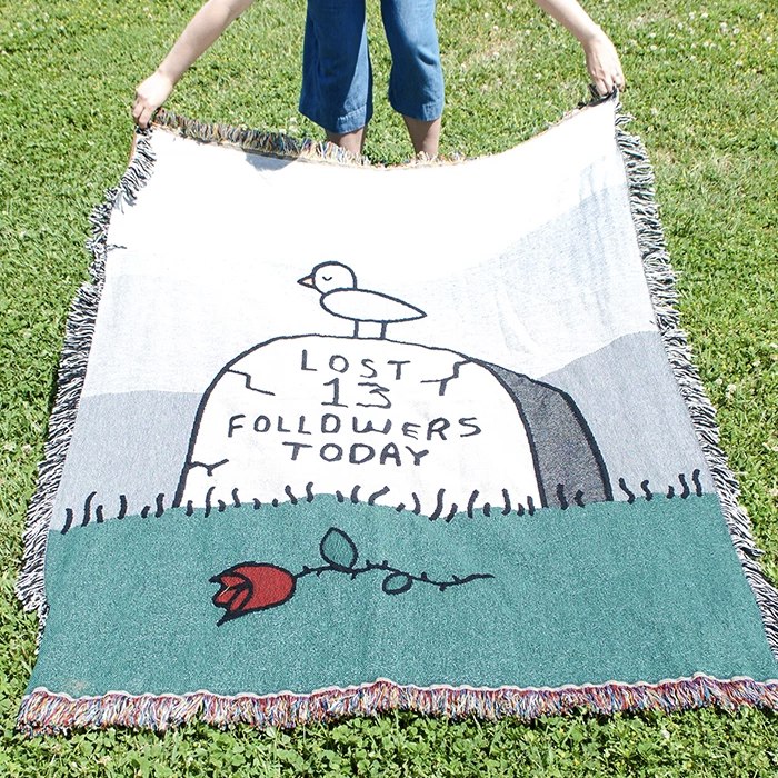 Lost Followers Throw Blanket
