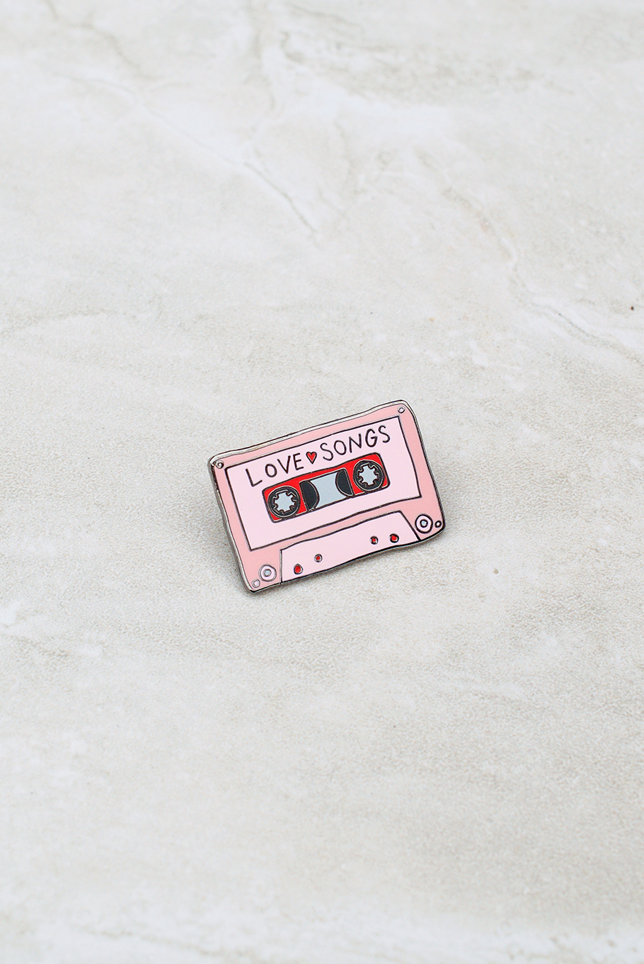 Love Songs Mixtape Pin