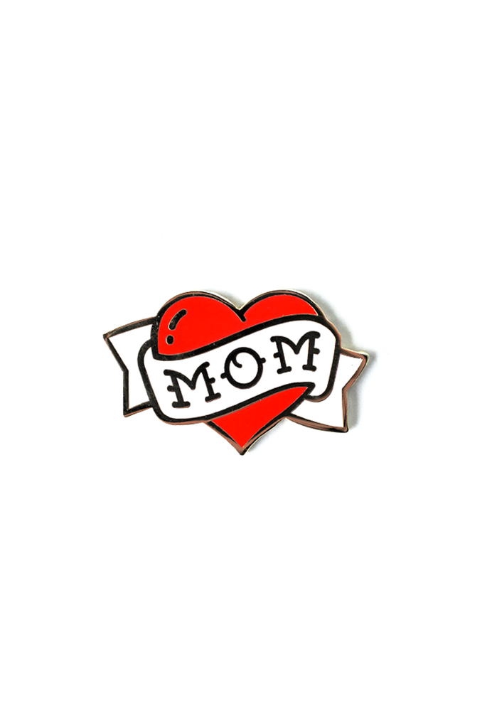 Mom Strength Card and Pin