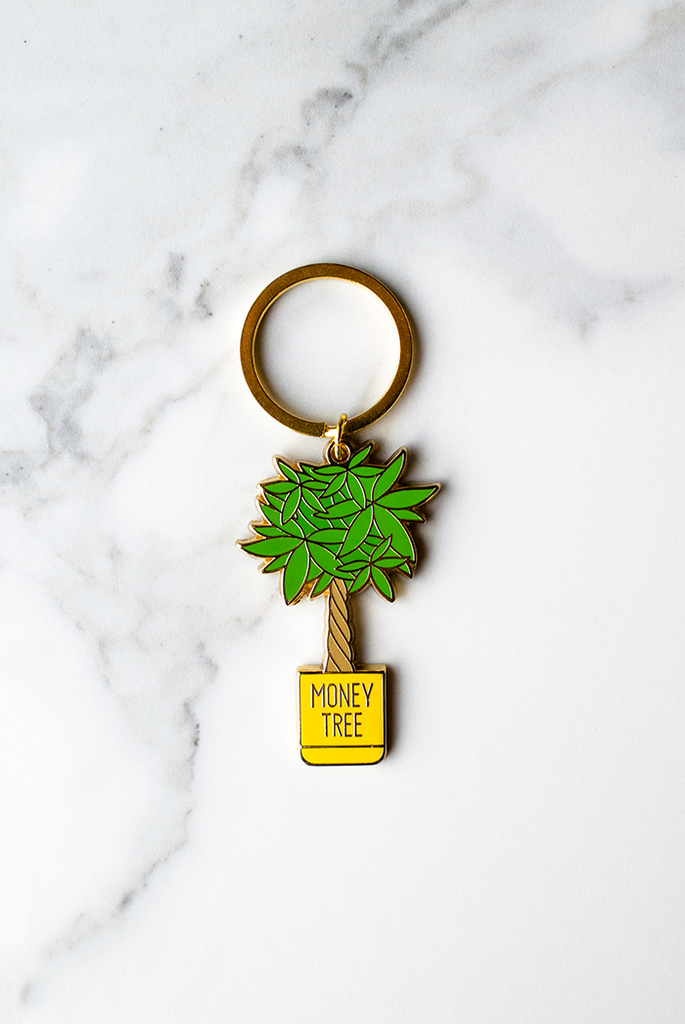 Money Tree Keychain