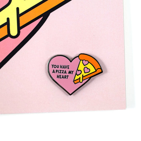 Pizza My Heart Card and Pin