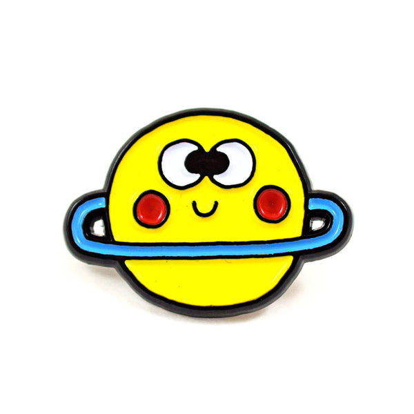 Happy Planet Pin