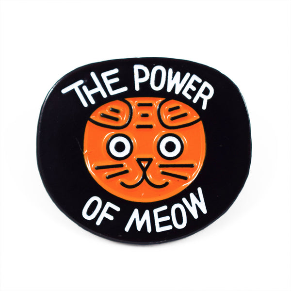 The Power of Meow Pin by Jason Sturgill