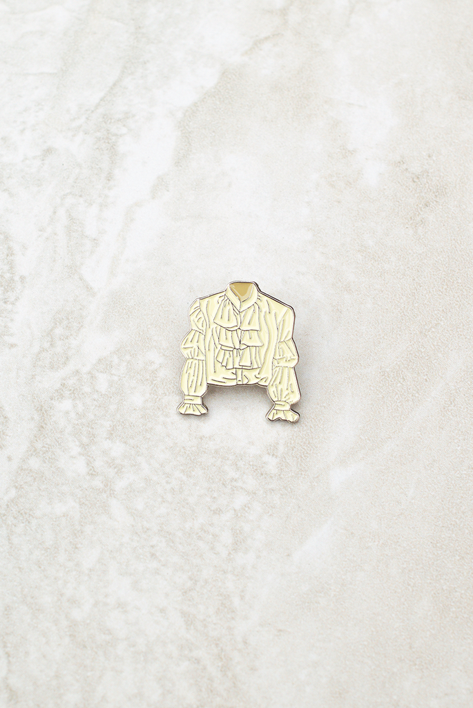 Puffy Shirt Lapel Pin