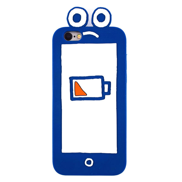 Sad Phone iPhone Case by Will Bryant