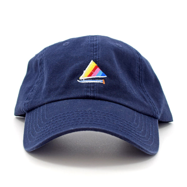 Sailfish Sail Boat Dad Hat by Ted Feighan