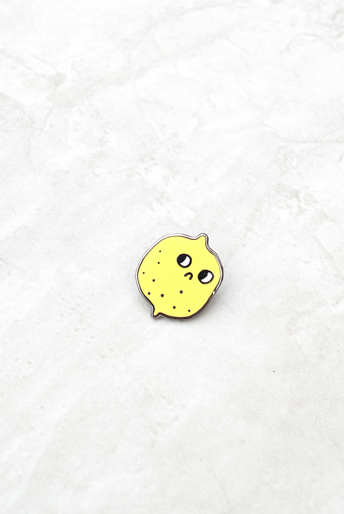 Suspicious Lemon Pin