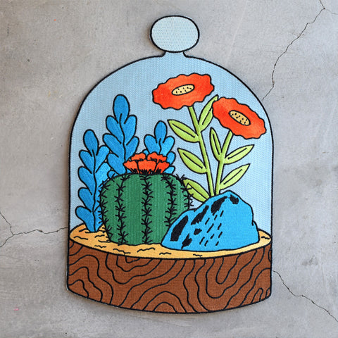 Terrarium Back Patch by Rand Renfrow