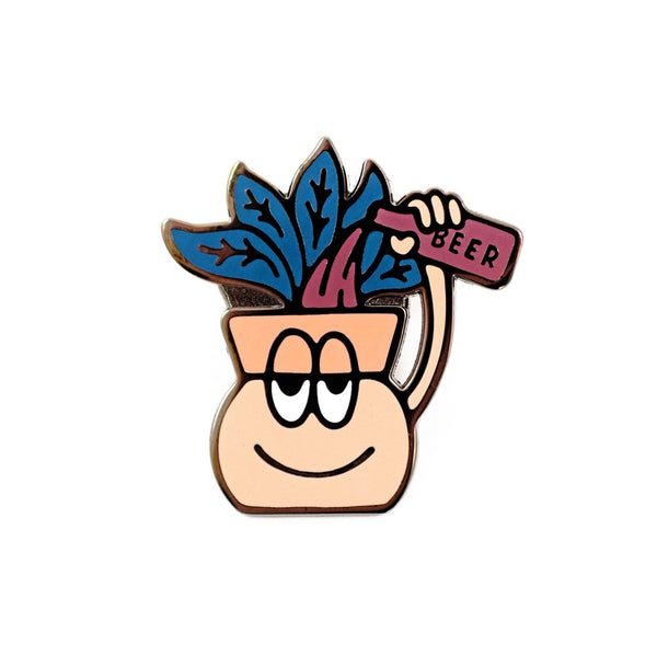 Thirsty Plant Pin