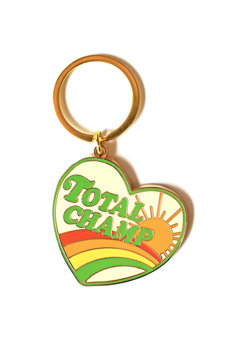 Total Champ Keychain