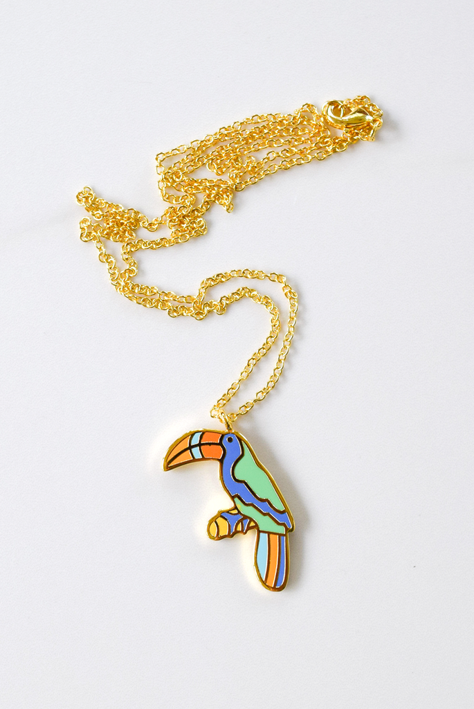 Toucan Play at that Game Necklace