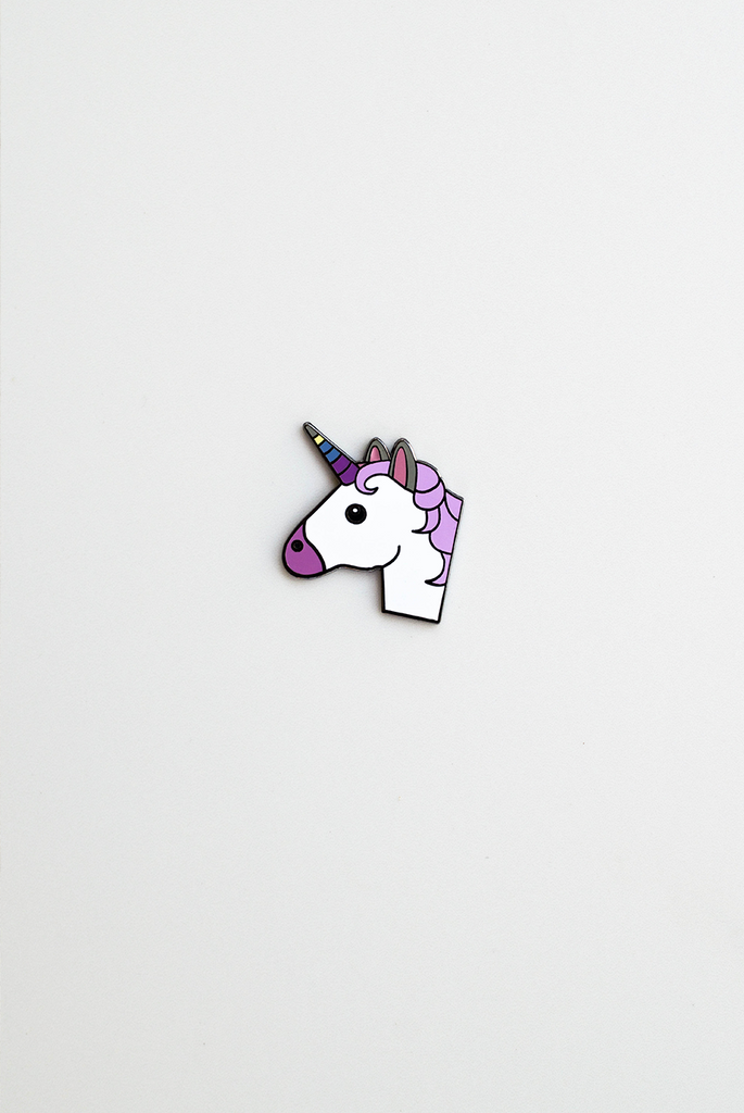 Magical Birthday Enamel Pin Card