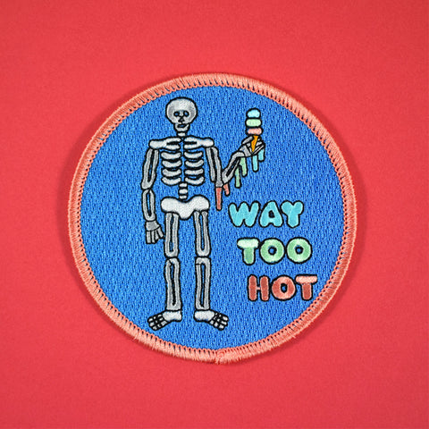 Way Too Hot Patch by Gabriel Acala