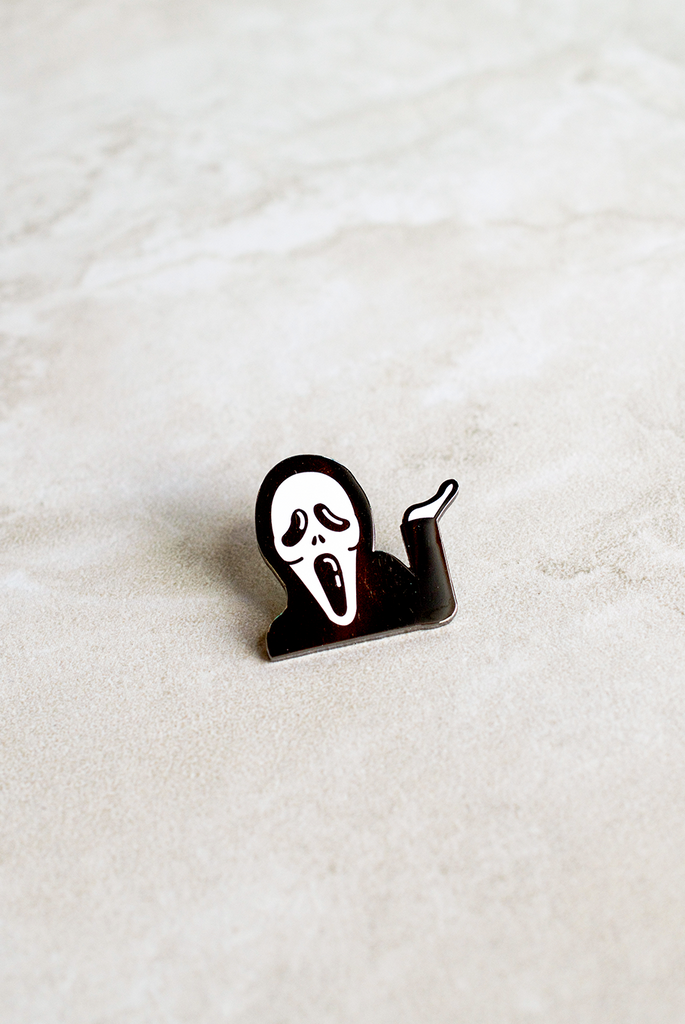 Whatever Scream Pin