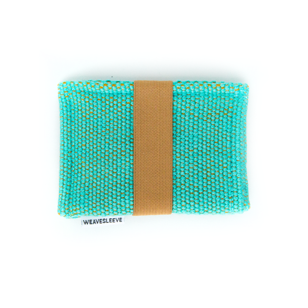 Teal Two Pocket Wallet