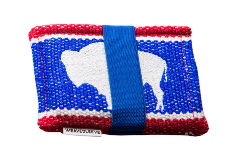 Wyoming Flag WeaveSleeve Wallet