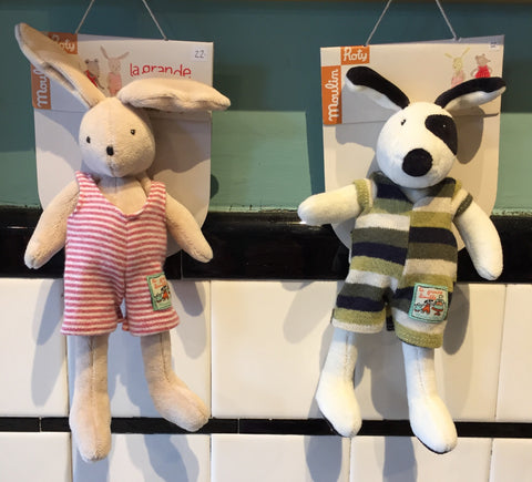 Moulin Roty stuffed animals