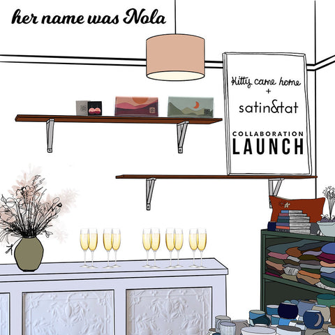 Her Name Was Nola Invitation to collaboration launch