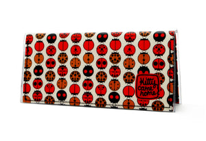 Bi-fold Clutch - The ladybirds of good luck