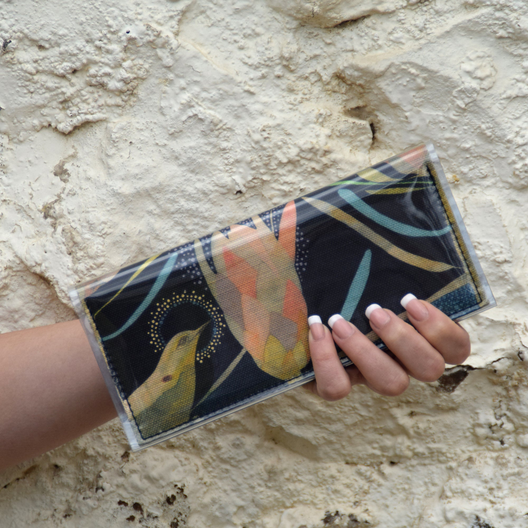 Bi-fold Clutch - Dana Kinter limited edition print - Stars 1
