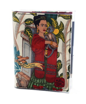 A5 Journal - Frida with monkey
