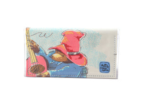Bi-fold Mini - Paddington Bear vintage fabric