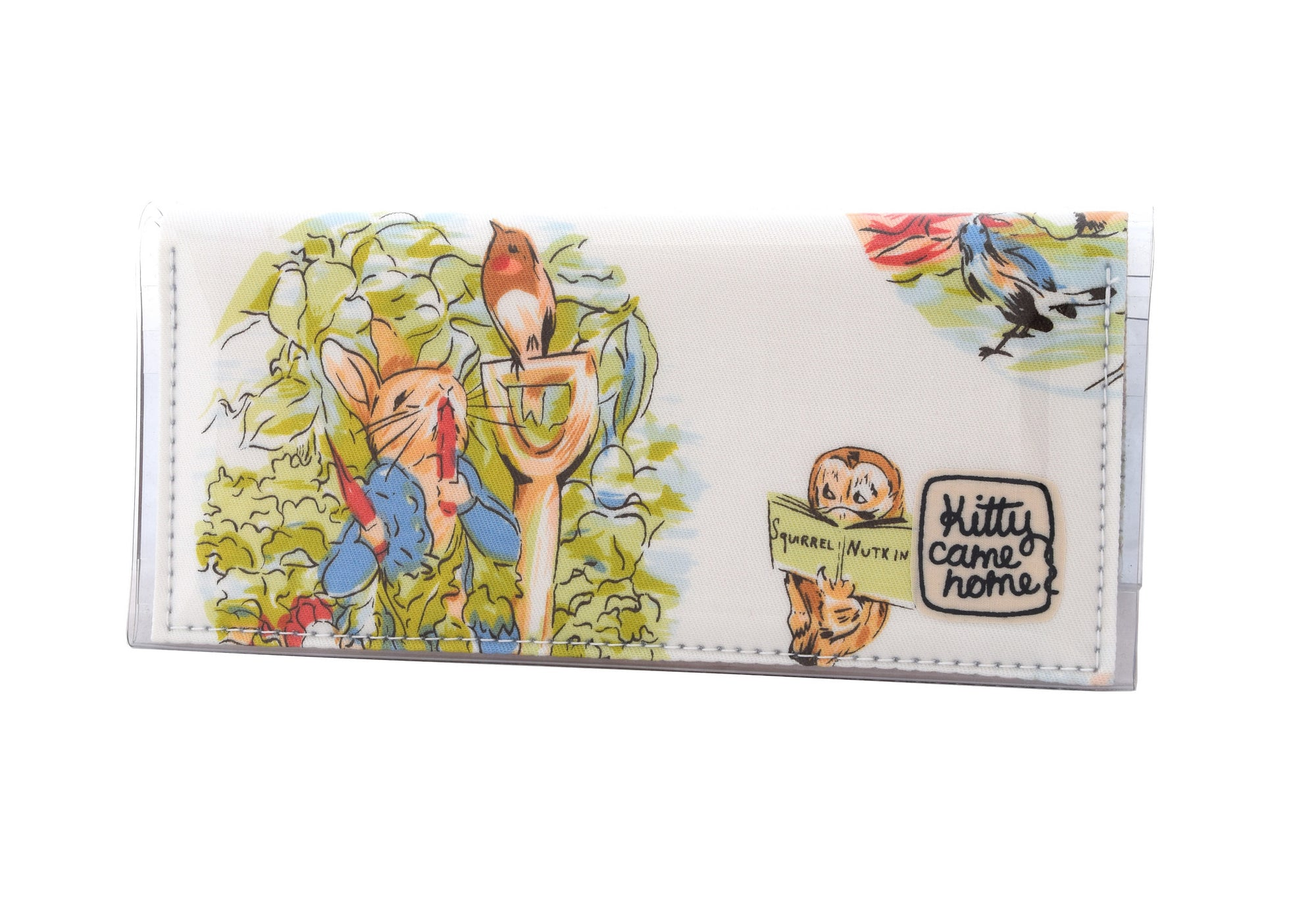 Bi-fold Clutch - Peter Rabbit Beatrix Potter vintage fabric