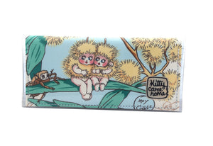 Bi-fold Clutch - May Gibbs wattle babies