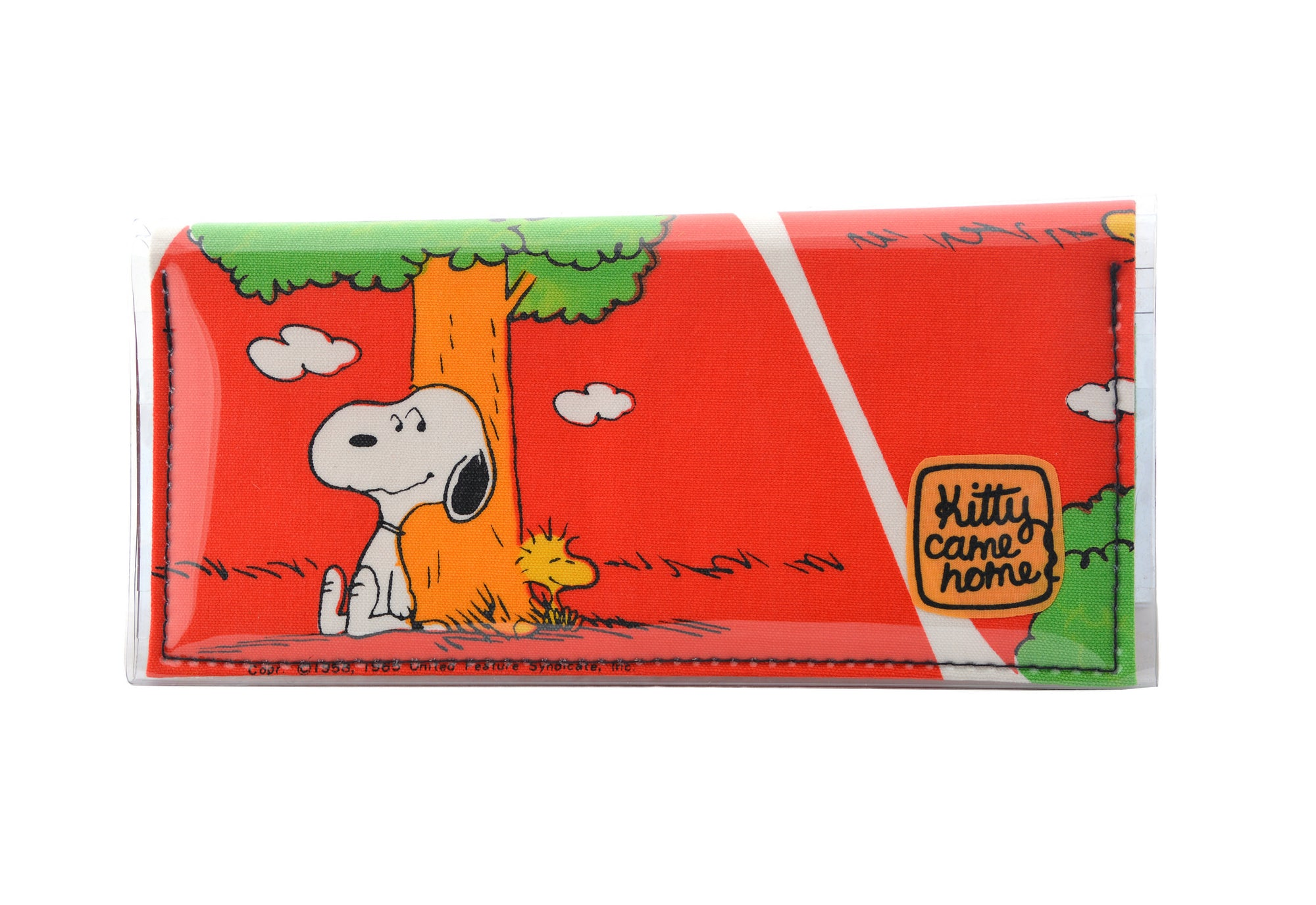 Bi-fold Clutch - Snoopy and Woodstock