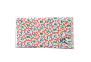 Bi-fold Mini - Flower bursts - vintage fabric