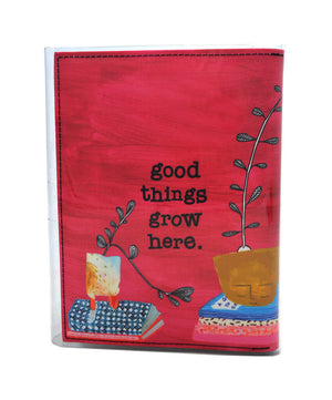A5 Journal - Birds Nests For Hair - Secret garden - Good things grow here