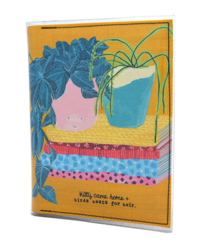 A5 Journal - Birds Nests For Hair - Good things grow here