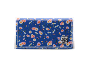 Bi-fold Mini - Dear Daisy - Royal blue