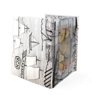 KCH clear wallet – Sailing ships