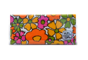 Bi-fold Clutch - Happy vintage floral