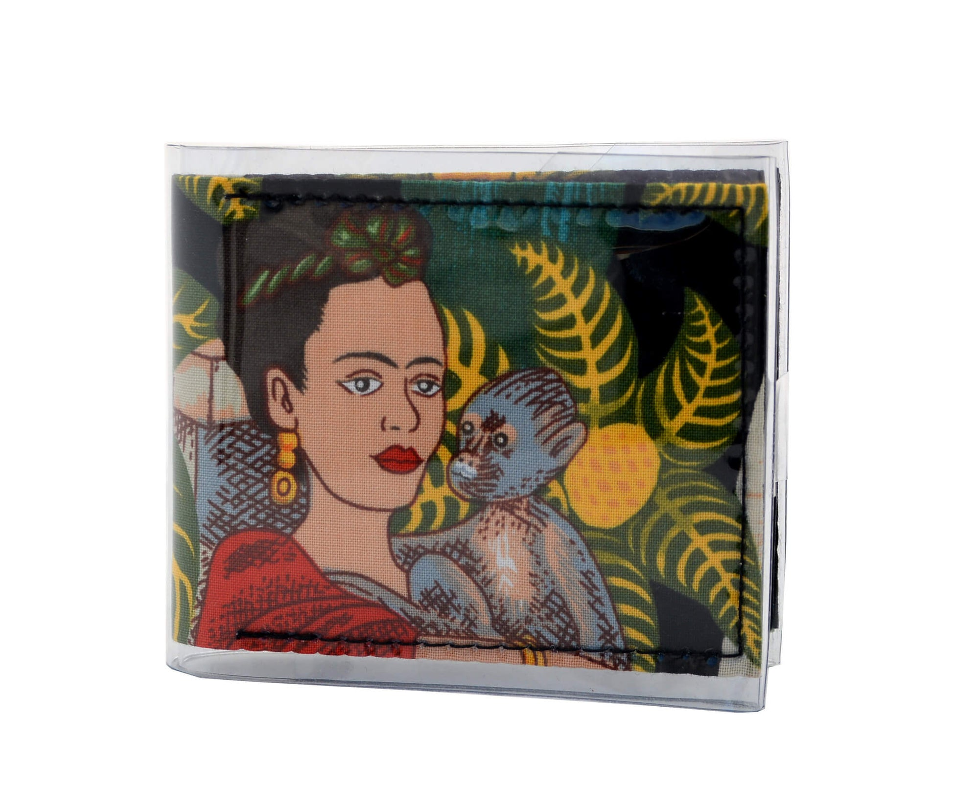 Card Wallet - Frida with monkey