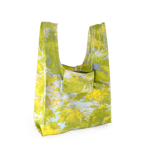 Shopping Bag - Gum trees vintage fabric