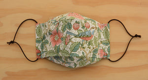 Face Mask - William Morris - Strawberry Thief