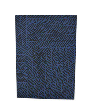 Greeting Card - Herringbone - Aegean