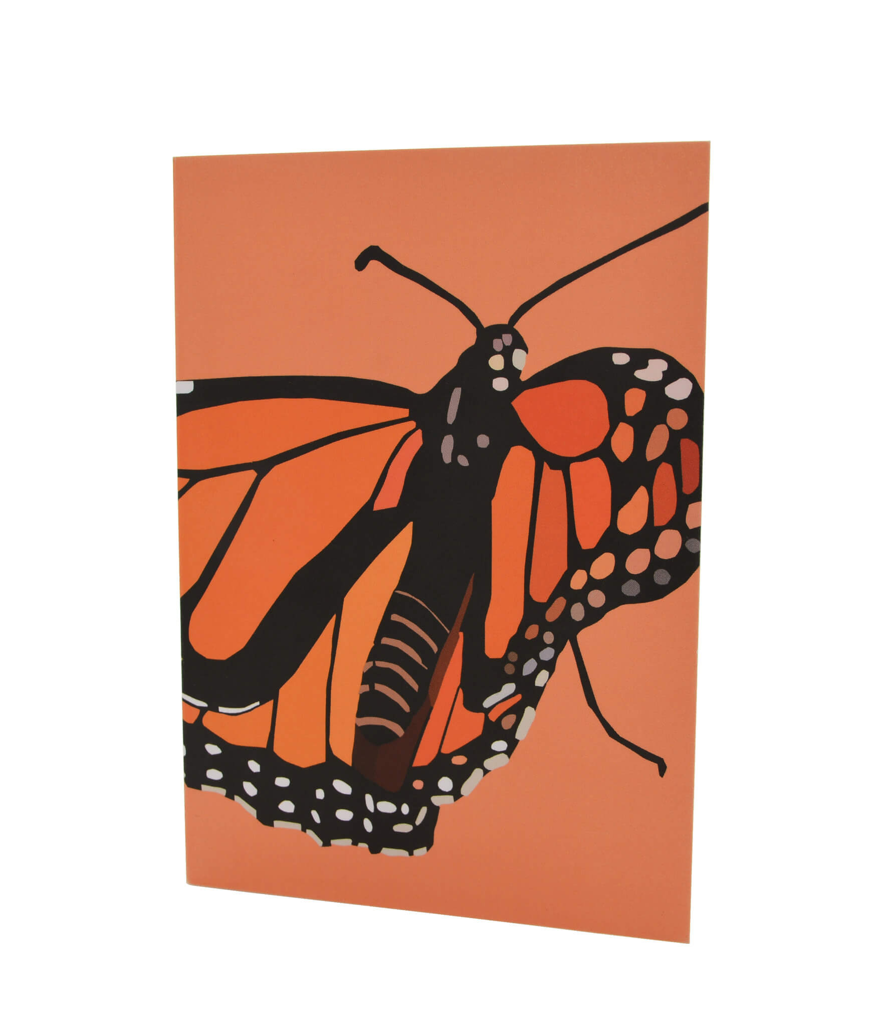 Greeting Card - Monarch butterfly 1
