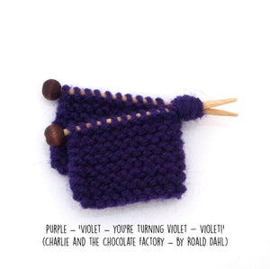 Nanna Knitted Brooch