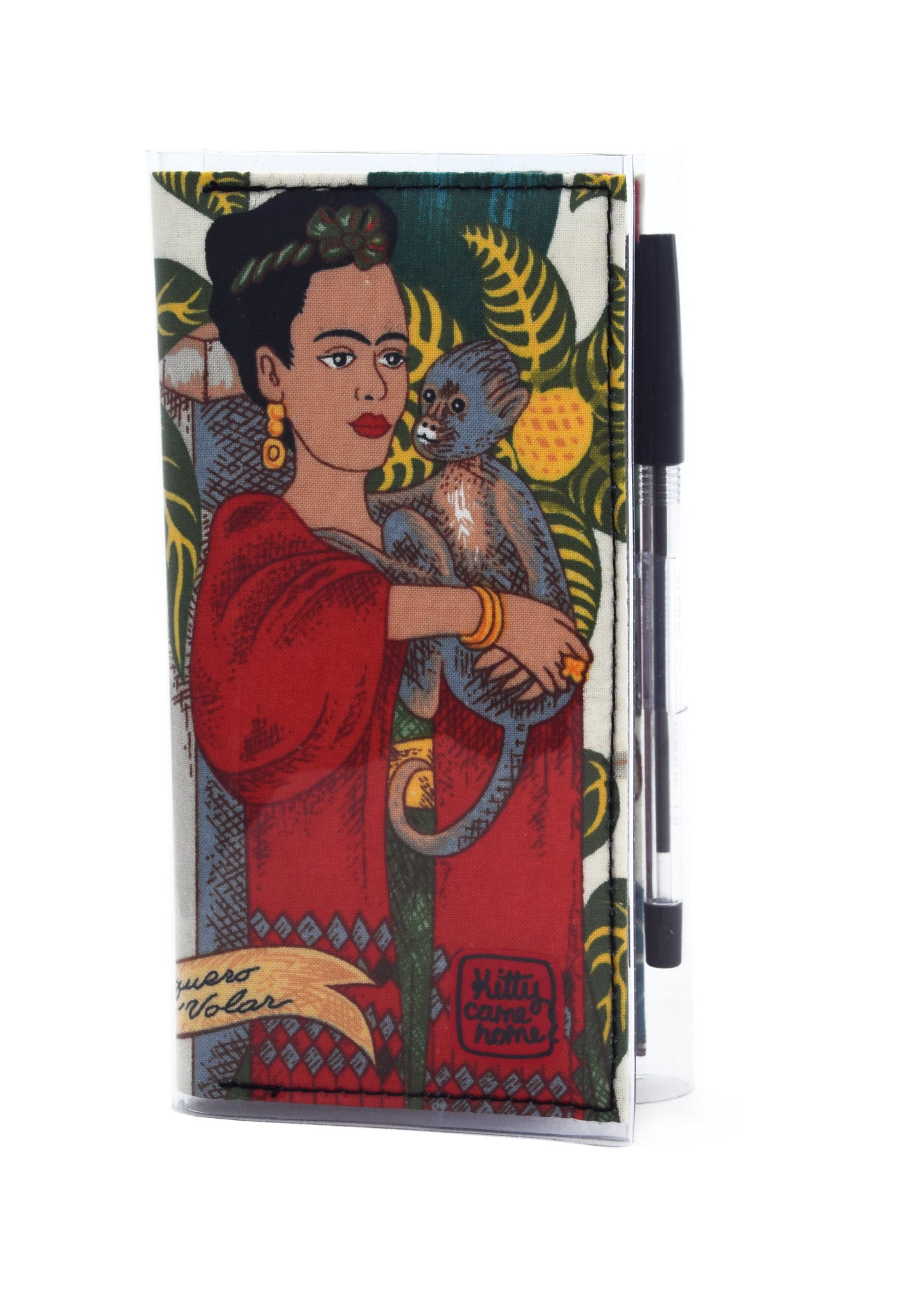 2021 Diary - Frida with monkey