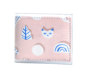 Pocket Wallet - Rainbows and kittens