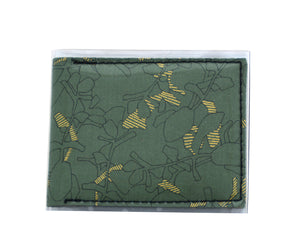 Card Wallet - Gold leaf