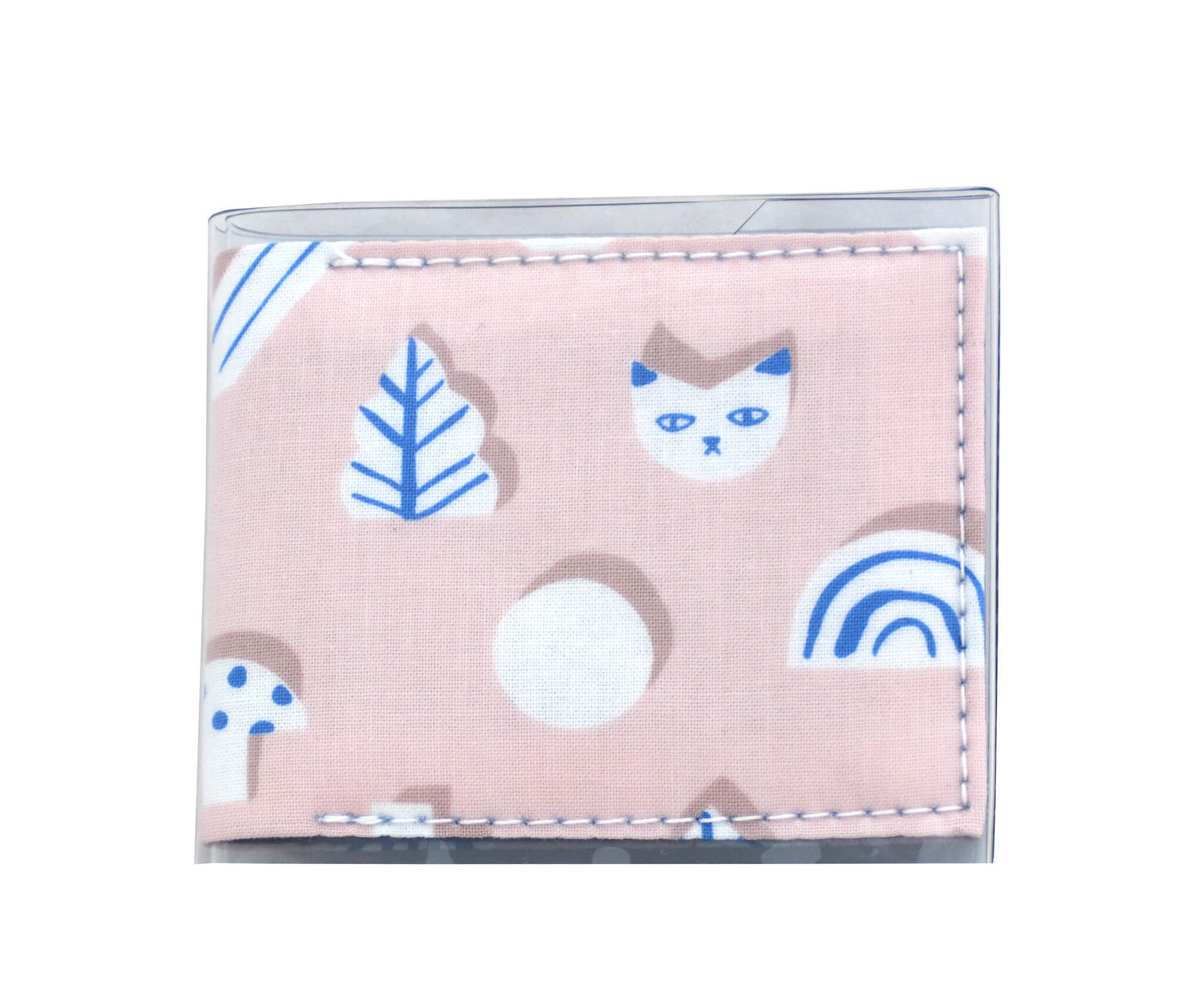 Card Wallet - Rainbows and kittens