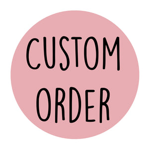 Custom order bundle for Stefanie C